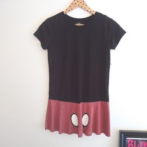 Minnie Mouse Skirted top NWT